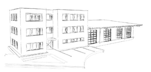 Neubau des Bauhofes der Gemeinde Langenargen