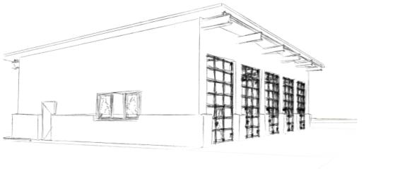 Neubau provisorisches Feuerwehrhaus der Gemeinde Langenargen