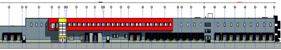 Erweiterung eines Logistikzentrums